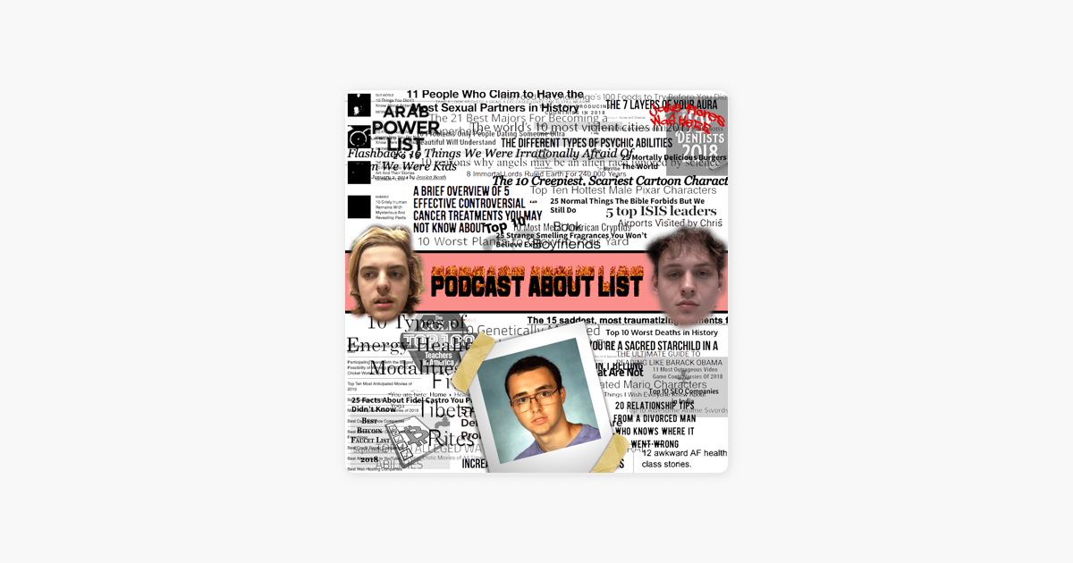 Podcast About List: Ep  33 - 10 Fetal Alcohol Syndrome