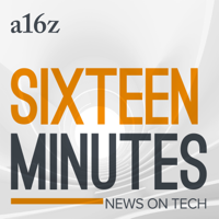 Podcast cover art for 16 Minutes News by a16z