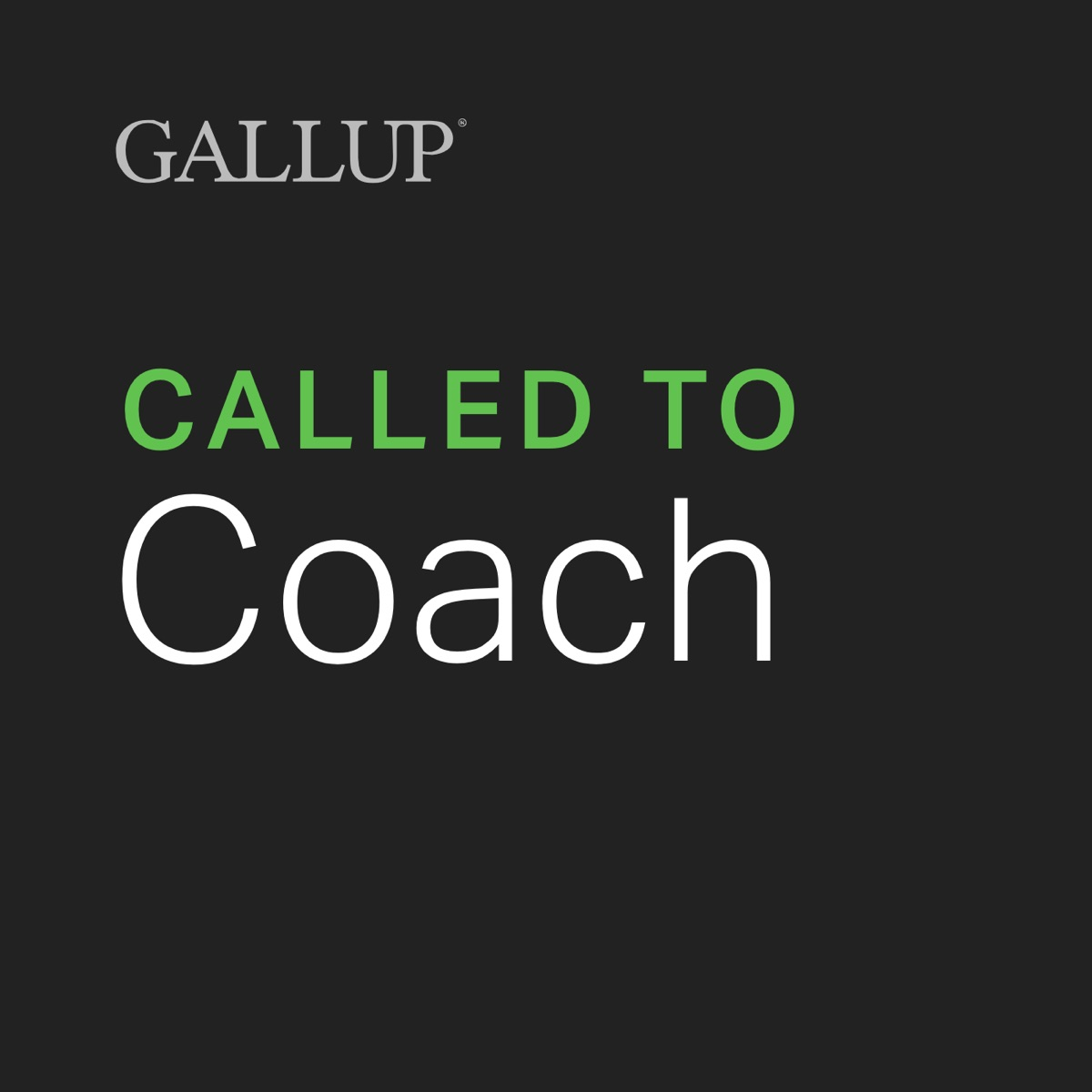 Gallup Called to Coach