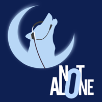 Podcast cover art for Not Alone