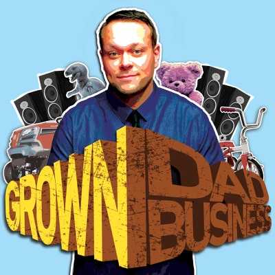 The Bat-Dad Terry Jones: Part TWO #GrownDadBusiness ep.173