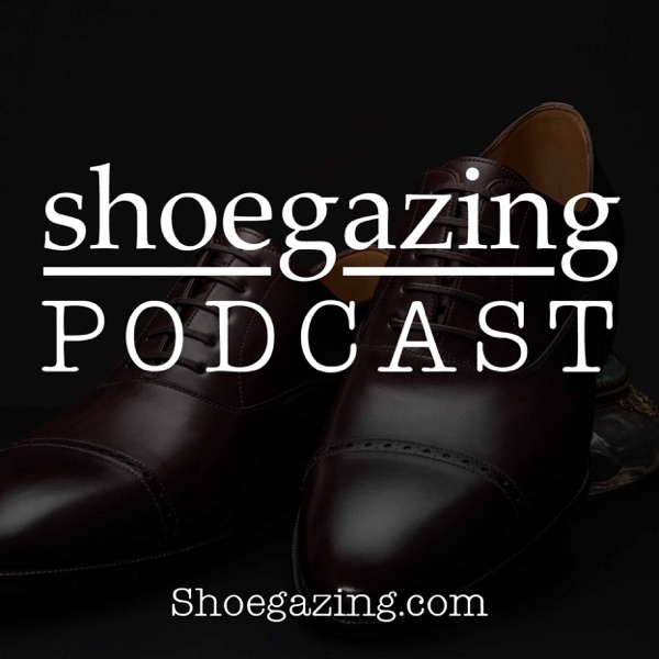 Shoegazing Podcast banner backdrop