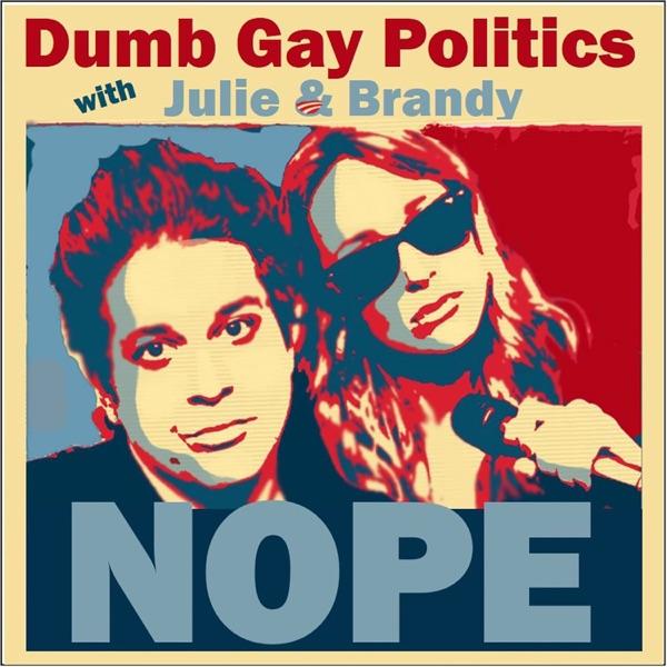 Dumb Gay Politics logo