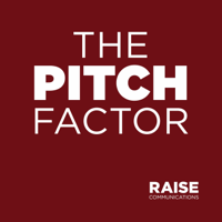 Podcast cover art for The Pitch Factor