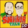 Survivor Talk with D&D artwork