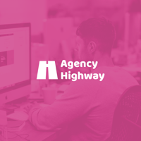Podcast cover art for Agency Highway