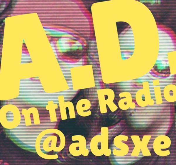 AD on the Radio Artwork