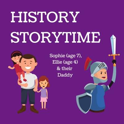 History Storytime - For Kids:Sophie (7) & Ellie (4) tell history for kids