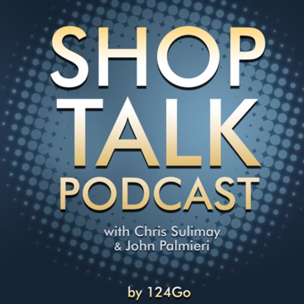 Shop Talk a podcast for hair stylists, salon owners, managers and cosmetology students. By 124 Go