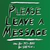 Please Leave a Message artwork