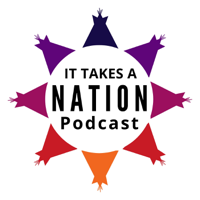 Podcast cover art for It Takes a Nation