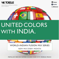 United Colors with India.