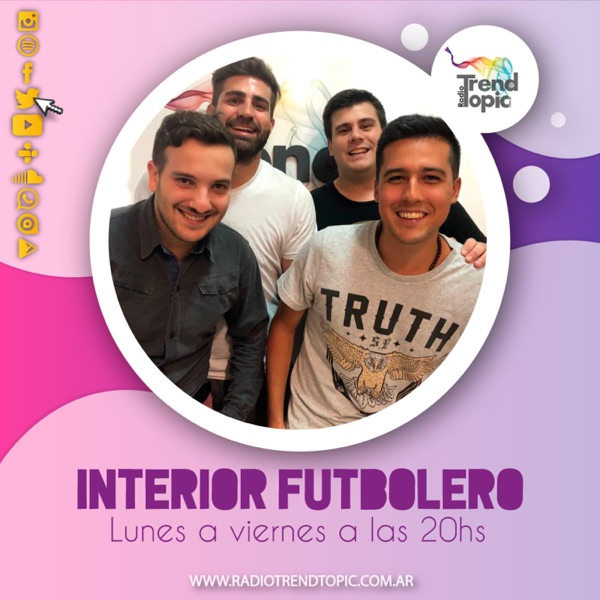 Interior Futbolero - Radio Trend Topic