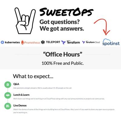 "Cloud Posse DevOps ""Office Hours"" Podcast"