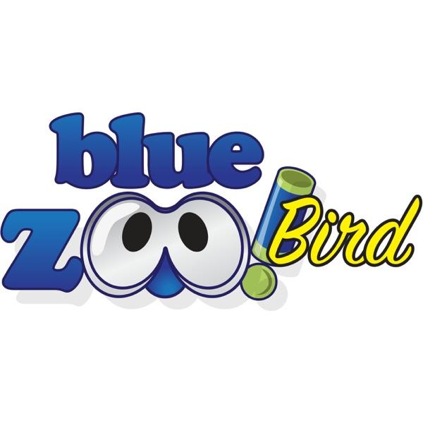 Blue Zoo Bird
