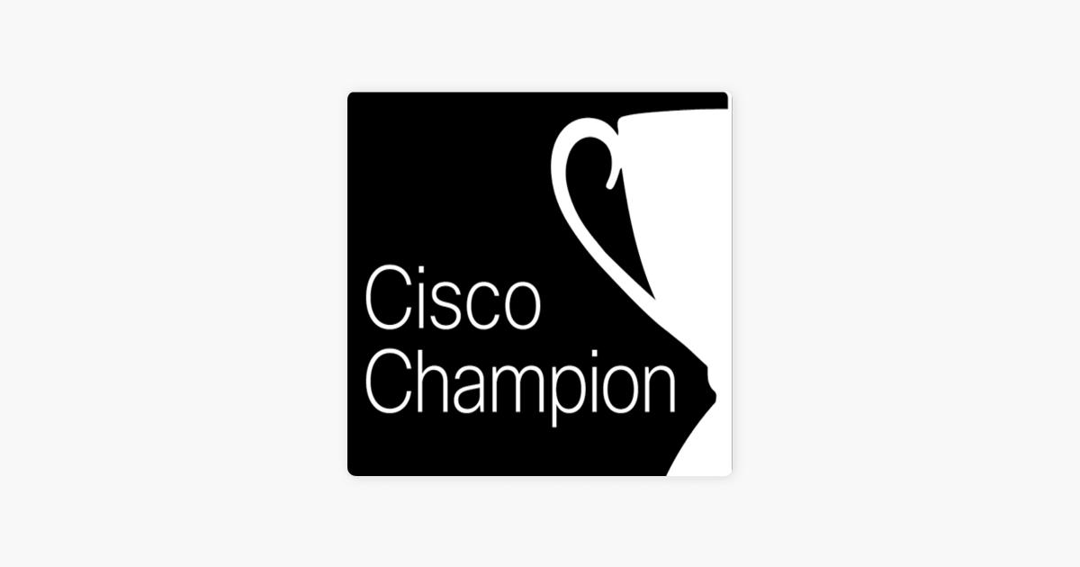 Cisco Champion Radio: (S6|Ep 8)OMP the secret sauce of