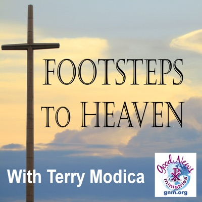 Footsteps to Heaven – See Jesus Smiling At You