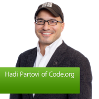 Hadi Partovi of Code.org podcast