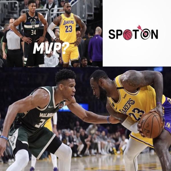 Spot on NBA podcast MVP TALK