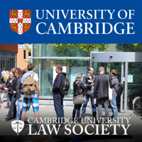 Cambridge University Law Society Speakers podcast