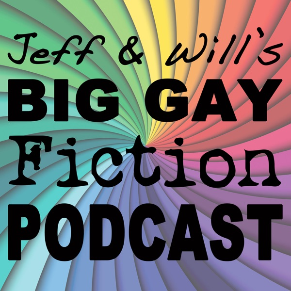 Big Gay Fiction Podcast banner backdrop