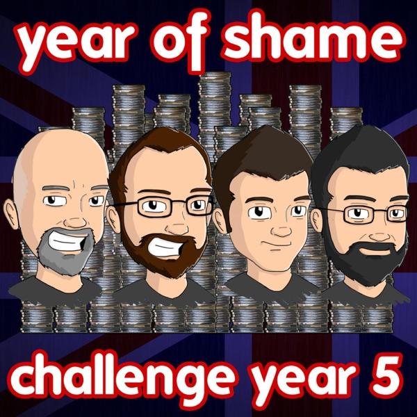 Year Of Shame Challenge 2017