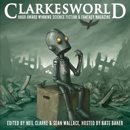 Cover image of Clarkesworld Magazine - Science Fiction & Fantasy
