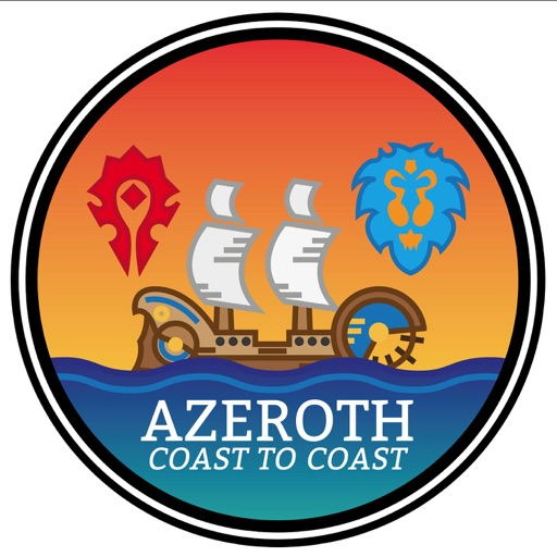 Cover image of Azeroth Coast to Coast