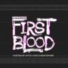 Definitely First Blood artwork