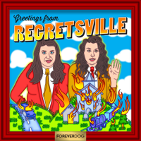 Podcast cover art for Regretsville with Tracy Soren and Jessie Jolles