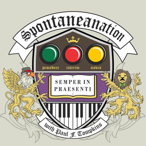 Cover image of SPONTANEANATION with Paul F. Tompkins
