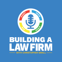 Podcast cover art for Building a Law Firm