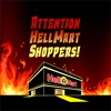 Attention HellMart Shoppers! artwork