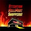 Attention HellMart Shoppers! artwork