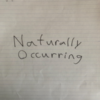 Naturally occurring podcast