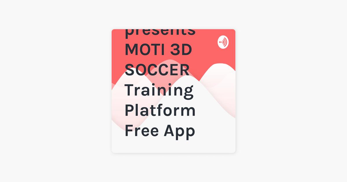 Alan Merrick presents MOTI 3D SOCCER Training Platform Free