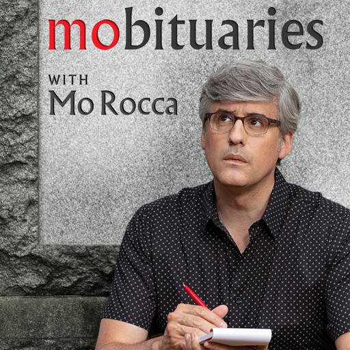 Cover image of Mobituaries with Mo Rocca