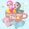 Heart to heart talk artwork