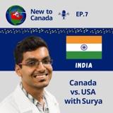 Canada vs USA   Surya from India