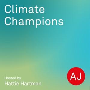 AJ Climate Champions with Hattie Hartman