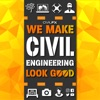 We Make Civil Engineering Look Good   Working to Make Transportation and other Civil Engineer Projects Better through Outreach, 3D Visualization and More! artwork