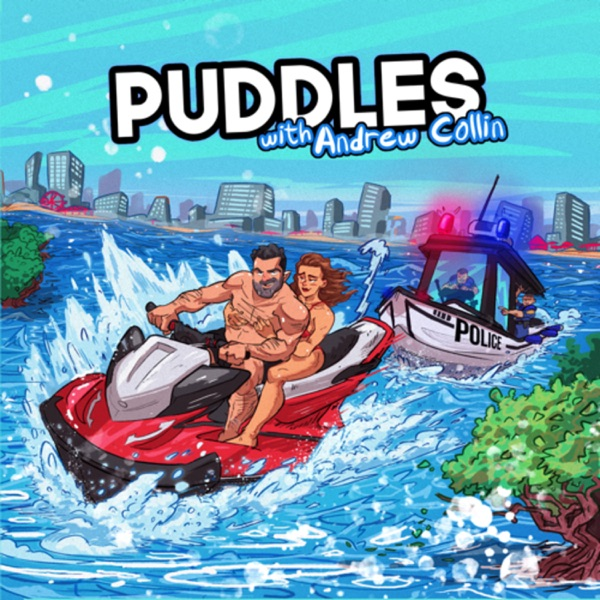 Puddles with Andrew Collin banner backdrop