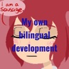 """My own bilingual development"" artwork"
