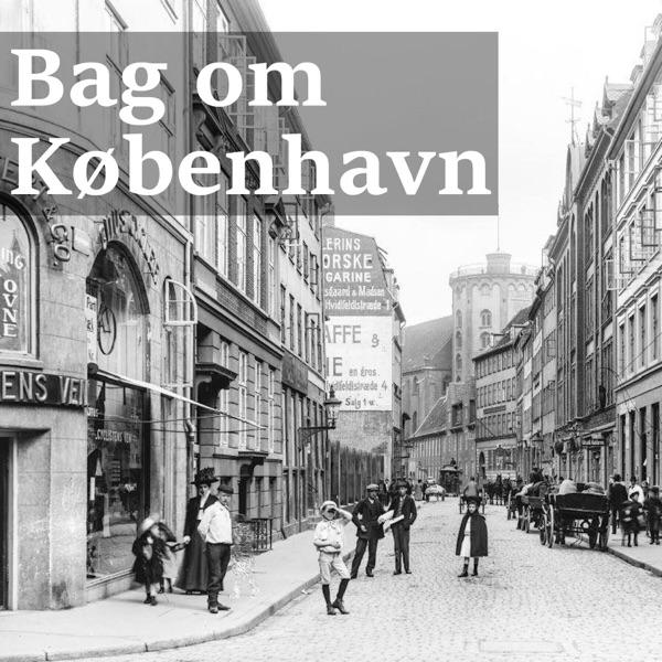 Bag om København banner backdrop