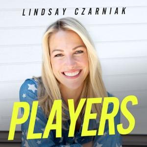 Players with Lindsay Czarniak