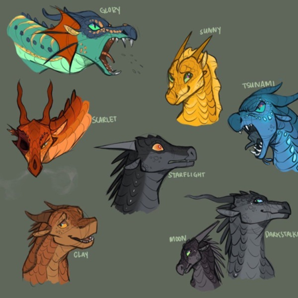 Wings Of Fire: For Dragons And Scavengers Artwork