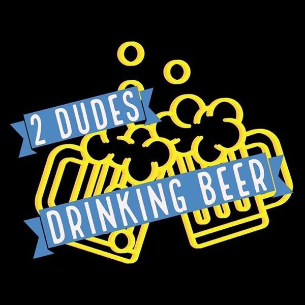 2 dudes drinking beer Artwork