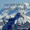 Late night literature talk with Hannes Willenborg artwork