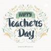 Happiest Teacher's day artwork