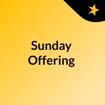 Sunday Offering